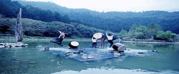 十鼓擊樂團宜蘭力麗明池水中劇場 量身製作~池中劍,4/1重磅開賣!